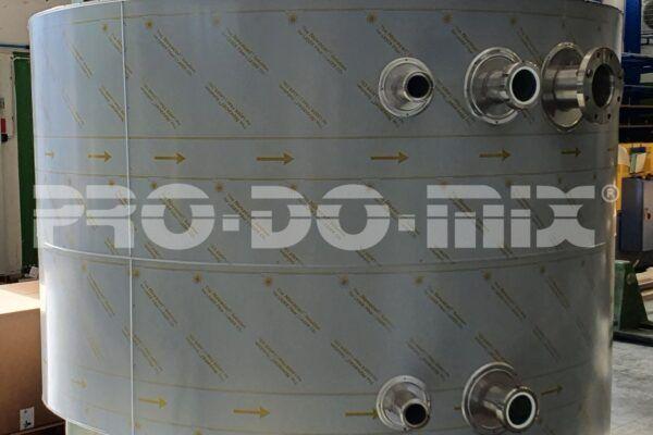 Applicazione industriale per la preparazione di polveri esplosive