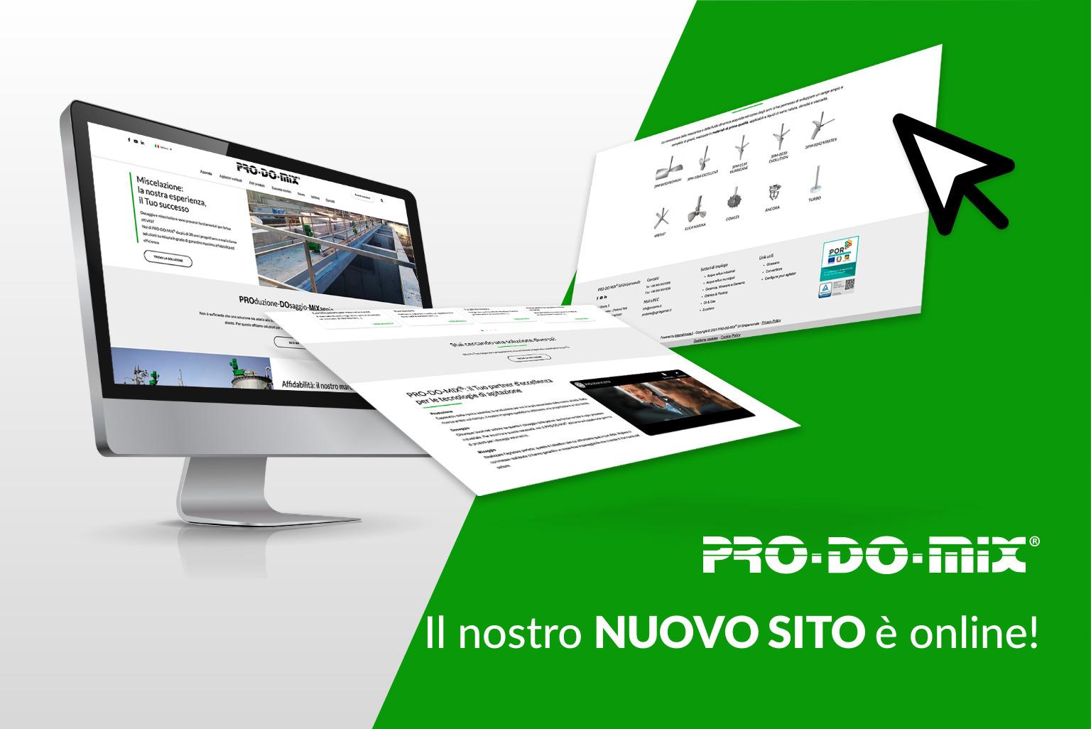 PRO-DO-MIX lancia il suo nuovo sito web!